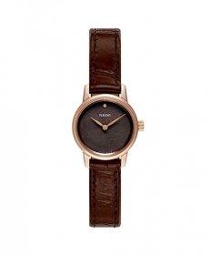ラドー クーポール R22891935 腕時計 レディース RADO Coupole クロノグラフ ゴールド レザーストラップ