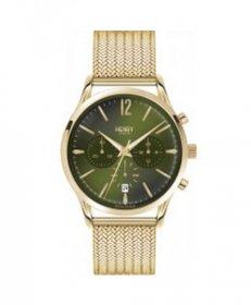 ヘンリーロンドン チズウィック HL41-CM-0108 腕時計 メンズ HENRY LONDON CHISWICK クロノグラフ ゴールド メタルブレス