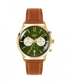ヘンリーロンドン チズウィック HL41-CS-0190 腕時計 メンズ HENRY LONDON CHISWICK ゴールド レザーストラップ