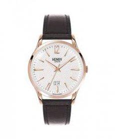 ヘンリーロンドン リッチモンド HL41-JS-0038 腕時計 メンズ HENRY LONDON RICHMOND クロノグラフ レザーストラップ