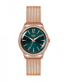 ヘンリーロンドン ショーディッチ HL34-SM-0204 腕時計 レディース HENRY LONDON STRATFORD ゴールド メタルブレス