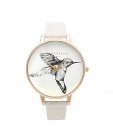 オリビアバートン ビッグダイアル  OB13AM06 腕時計 レディース OLIVIA BURTON BIG DIAL ゴールド レザーストラップ