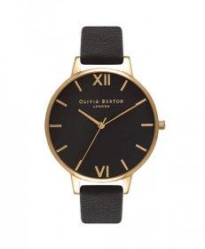 オリビアバートン ビッグダイアル  OB15BD55 腕時計 レディース OLIVIA BURTON BIG DIAL ゴールド レザーストラップ