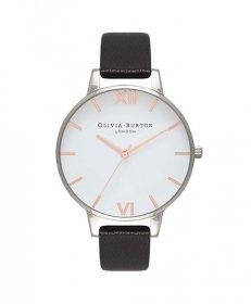 オリビアバートン ビッグダイアル  OB16BDW08 腕時計 レディース OLIVIA BURTON BIG DIAL レザーストラップ