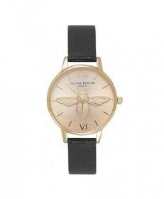 オリビアバートン ミディー ダイアル OB15AM70 腕時計 レディース OLIVIA BURTON MEDIUM DIAL ゴールド レザーストラップ