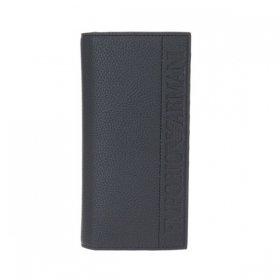 エンポリオアルマーニ 長財布 小銭入れ付き Y4R170 YG89J 81072 メンズ ブラック 黒 EMPORIO ARMANI ロゴ