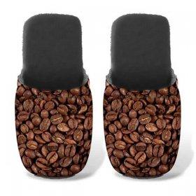 ユーロスポンジ FOOD&FUN COFFEE FRIENDS Lサイズ スリッパ eurospugna  ユニセックス メンズ レディース ルームシューズ コーヒー