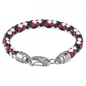 トミー ヒルフィガー ブレスレット 2790046 ブルー&レッド&ホワイト ブレスレット TOMMY HILFIGER bracelet ユニセックス