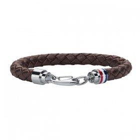 トミー ヒルフィガー ブレスレット 2700530 ダークブラウン ブレスレット TOMMY HILFIGER bracelet ユニセックス
