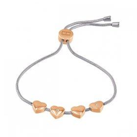 トミー ヒルフィガー ブレスレット 2780122 シルバー/ピンクゴールド ブレスレット TOMMY HILFIGER bracelet レディース