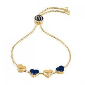 トミー ヒルフィガー ブレスレット 2780121 ゴールド/ネイビー ブレスレット TOMMY HILFIGER bracelet レディース