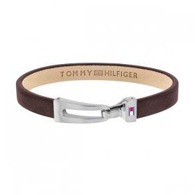 トミー ヒルフィガー ブレスレット 2790053 ブラウン/シルバー ブレスレット TOMMY HILFIGER bracelet ユニセックス