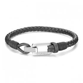 トミー ヒルフィガー ブレスレット 2701012 ブラック/シルバー ブレスレット TOMMY HILFIGER bracelet ユニセックス