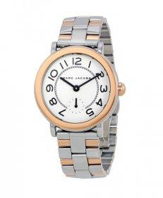マークジェイコブス ライリー MJ3539 腕時計 ユニセックス MARC JACOBS  メタルブレス プレゼント ペアウォッチ シルバー×ピンクゴールド ※時計は1点での価格です。