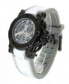 特価 55%OFF! アクアノウティック バラクーダ クロノグラフ B220250N22Y03 腕時計 ダイヤダイヤル メンズ ユニセックス AQUANAUTIC Bara Cuda 革ベルト