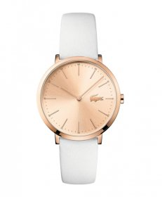 ラコステ  2000949 腕時計 レディース LACOSTE  レザーストラップ ローズゴールドケース ピンク 誕生日プレゼント ペアウォッチ※時計は1点での価格です。