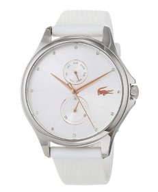 ラコステ  2001023 腕時計 レディース LACOSTE  ラバーストラップ ホワイト 誕生日プレゼント ペアウォッチ※時計は1点での価格です。