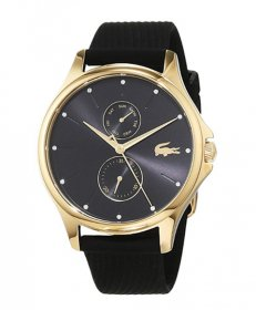 ラコステ  2001052 腕時計 レディース LACOSTE  ラバーストラップ ブラック文字盤 誕生日プレゼント ペアウォッチ※時計は1点での価格です。