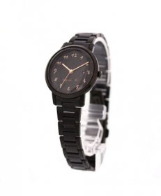 アニエスベー  BH7019X1 腕時計 レディース agnes b.  クオーツ ブラック メタルブレス ステンレス