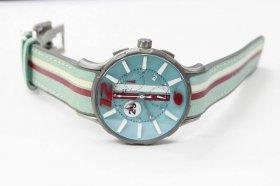 ワケあり アウトレット 73%OFF!  ノア 16.75 GRT 005 モナコ クロノグラフ 限定モデル レザーストラップ  腕時計 メンズ NOA