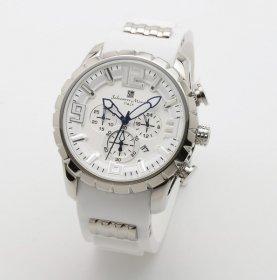 サルバトーレマーラ SM15107-SSWH/WH 腕時計 メンズ  Salvatore Marra クロノグラフ 3Dインデックス