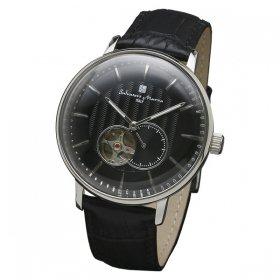 サルバトーレマーラ SM17114-SSBK 腕時計 メンズ  Salvatore Marra 自動巻き レザーストラップ