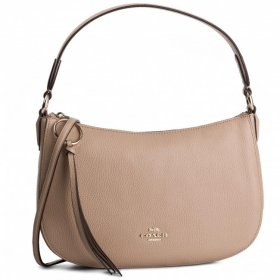 コーチ 2WAY ショルダーバッグ 52548 BEECHWOOD レディース COACH SUTTON CROSSBODY IN POLISHED PEBBLE LEATHER