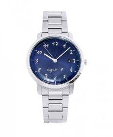 アニエスベー  BG8006X1 腕時計 ユニセックス agnes b.  メタルブレス ネイビー かわいい プレゼント クオーツ