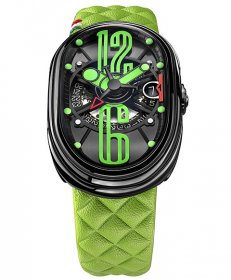 グリモルディ G.T.O.  ミント BKSHBK612GR-GR 腕時計 メンズ GRIMOLDI Gran Tipo Ovale Mint