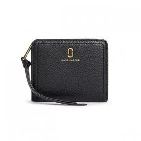 マークジェイコブス 二つ折り財布 M0015122 001/BLACK ブラック 黒 サイフ ウォレット MARC JACOBS  レディース メンズ ユニセックス 無地 ブランド 新品