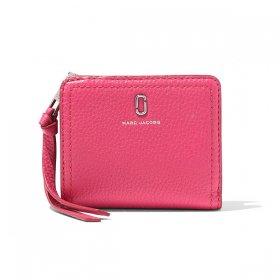 マークジェイコブス 二つ折り財布 M0015122 658/BEGONIA ベゴニア ピンク サイフ ウォレット MARC JACOBS  レディース メンズ ユニセックス 無地 ブランド