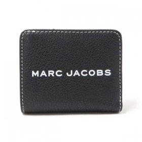 マークジェイコブス 二つ折り財布 M0014982 001/BLACK ブラック 黒 サイフ ウォレット MARC JACOBS Mini Compact Wallet レディース  ユニセックス