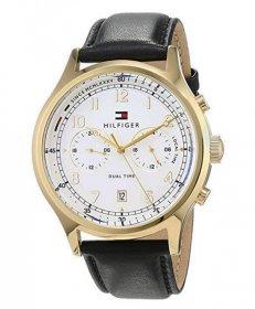 トミー ヒルフィガー デュアルタイム 1791386 腕時計 メンズ TOMMY HILFIGER  レザーストラップ プレゼント