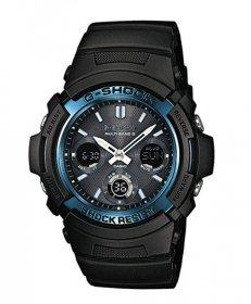 カシオ ジーショック AWG-M100A-1 腕時計 メンズ CASIO G-SHOCK 電波ソーラー 耐衝撃構造 スタンダードモデル プレゼント