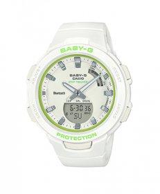 カシオ ベビージー BSA-B100SC-7A 腕時計 ユニセックス CASIO Baby-G  海外モデル モバイルリンク機能 多機能 プレゼント G-SQUAD