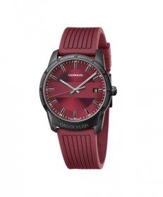 カルバンクライン エビデンス K8R114UP 腕時計 メンズ CALVIN KLEIN Evidence ラバーベルト レッド ビジネスウォッチ プレゼント