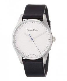 カルバンクライン ステッドファスト K8S211C6 腕時計 メンズ CALVIN KLEIN  レザーストラップ ビジネスウォッチ ペアウォッチ プレゼント