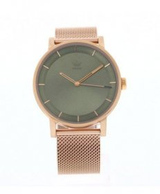アディダス ディストリクト_M1 Z04-3033 腕時計 メンズ ユニセックス ADIDAS DISTRICT_M1 レディース 男女兼用 メタルブレス ゴールド