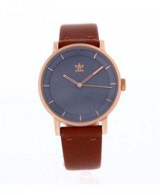 アディダス ディストリクト_L1 Z08-2919 腕時計 メンズ ユニセックス ADIDAS DISTRICT_L1 レザーストラップ ゴールド