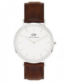 ダニエルウェリントン クラシック セイント モーズ 0207DW 腕時計 メンズ ユニセックス DANIEL WELLINGTON Classic St Mawes 40mm レザーストラップ