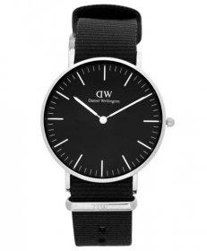 ダニエルウェリントン クラシックブラック コーンウォール DW00100151 腕時計 レディース DANIEL WELLINGTON Classic Black Cornwall 36mm