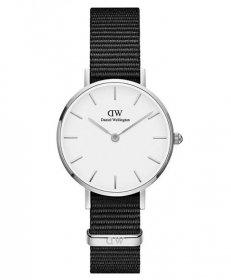 ダニエルウェリントン クラシックペティット ブラック アッシュフィールド DW00100252 腕時計 レディース DANIEL WELLINGTON Classic 28mm