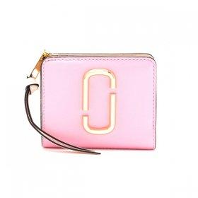 マークジェイコブス 二つ折り財布 M0013360 680/Powder Pink パウダーピンク サイフ ウォレット MARC JACOBS レディース