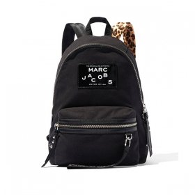 マークジェイコブス バックパック M0015437 001/BLACK ブラック 黒 ヒョウ柄 リュックサック MARC JACOBS レディース メンズ ユニセックス