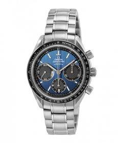 オメガ スピードマスター 326.30.40.50.03.001  腕時計 メンズ OMEGA SPEEDMASTER メタルブレス ブルー プレゼント ラッピング無料 クリスマスプレゼント