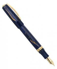 ヴィスコンティ メディチ ゴールデン ブルー KP17-05-FPF (FP/細字) 万年筆 VISCONTI ビスコンティ Medici Golden Blue 時計取り扱い