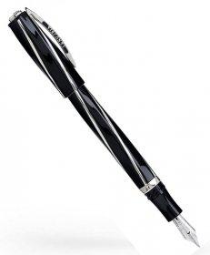 ヴィスコンティ  ディヴィーナ ブラック オーバーサイズ V26302PDA55M (MP/中字) 万年筆 VISCONTI ビスコンティ Divina Black 時計取り扱い