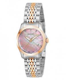 グッチ G-Timeless YA126536 腕時計 レディース GUCCI G-タイムレス メタルブレス 防水 プレゼント ラッピング無料 送料無料