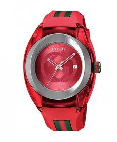 グッチ SYNC YA137103A 腕時計 メンズ GUCCI  ラバーベルト 防水 プレゼント ラッピング無料 送料無料