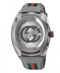 グッチ SYNC YA137109A 腕時計 メンズ GUCCI  ラバーベルト 防水 プレゼント ラッピング無料 送料無料